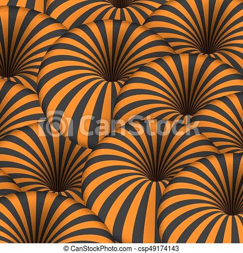 Tunnel Lignes Spirale Mouvement Effect Vecteur Rayé Illusion