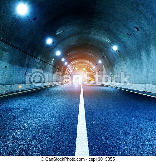 Tunnel - csp13013355