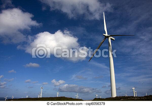 turbina, rinnovabile, energia vento - csp6056379