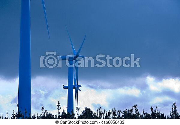 turbina, rinnovabile, energia vento - csp6056433