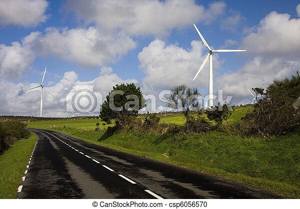 turbina, rinnovabile, energia vento - csp6056570