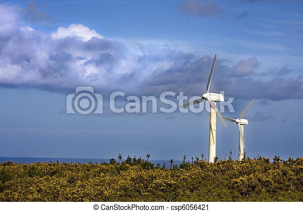 turbina, rinnovabile, energia vento - csp6056421