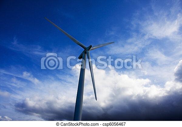 turbina, rinnovabile, energia vento - csp6056467