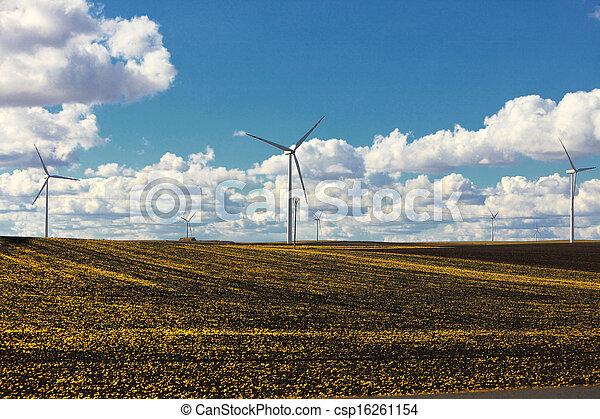turbina vento, -, energia, rinnovabile - csp16261154