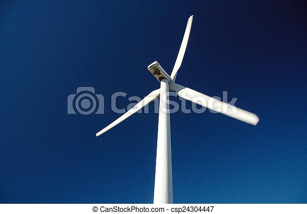 turbine., エネルギー, 風, 回復可能, 源 - csp24304447