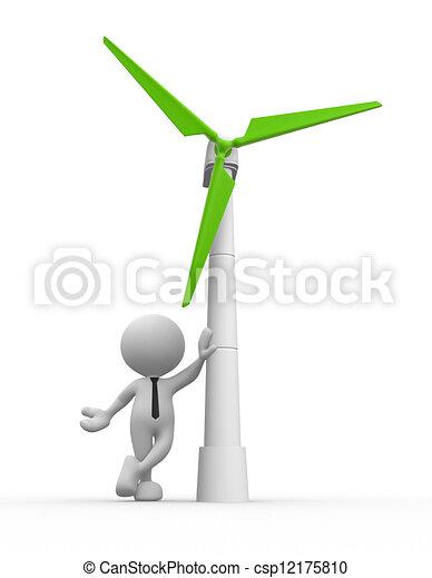 turbine, wind - csp12175810