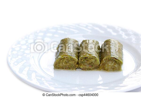 Turco Noci Sarma Dolce Pistacchio Verde Delizioso