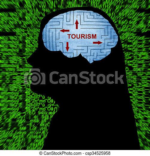 turismo, mente - csp34525958