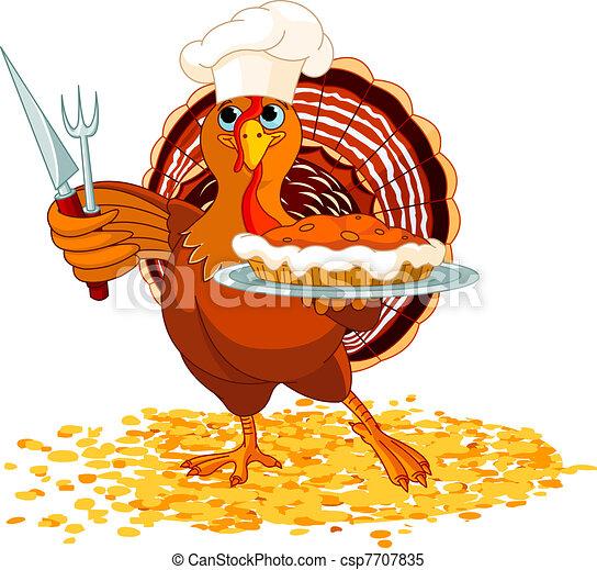 Pie illustrations and clipart 54807 pie royalty free turkey and pie thanksgiving turkey serving pumpkin pie voltagebd Images