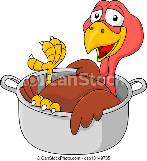 Turkey in the saucepan - csp13149735