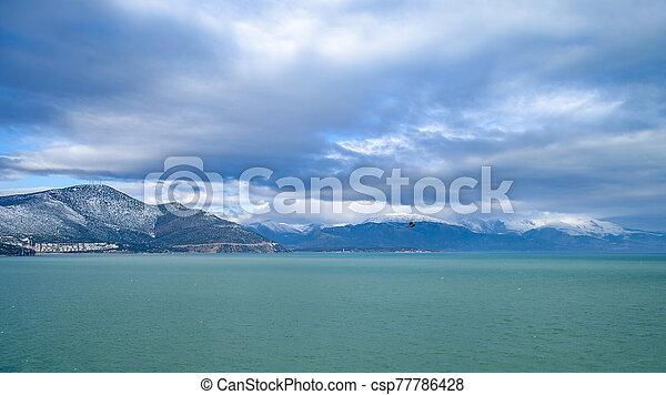 Turkey, Isparta province Egirdir lake - csp77786428