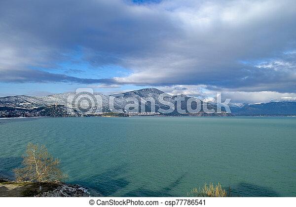 Turkey, Isparta province Egirdir lake - csp77786541