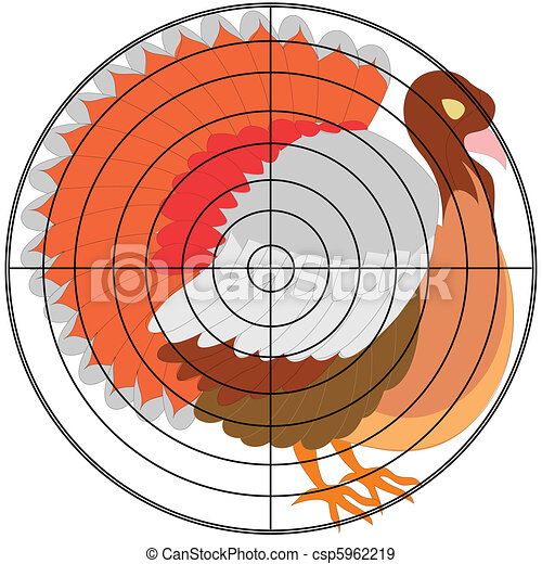 picture about Free Printable Turkey Shoot Targets called turkey shoot