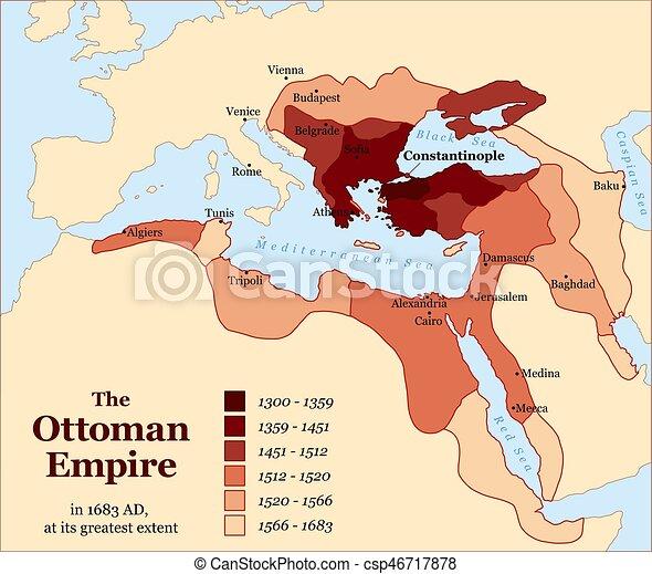 Karta Europa Turkiet.Turkiet Ottoman Kejsardome Acquisitions Historia Karta