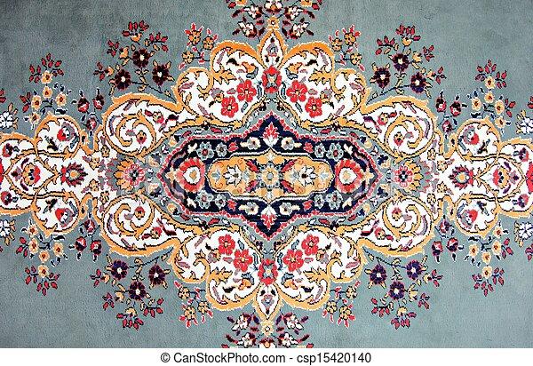 Texture Of Handmade Turkish Carpet Kilim Stock Photo