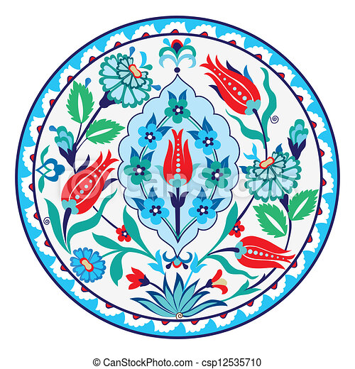 Turkish Ceramic - csp12535710