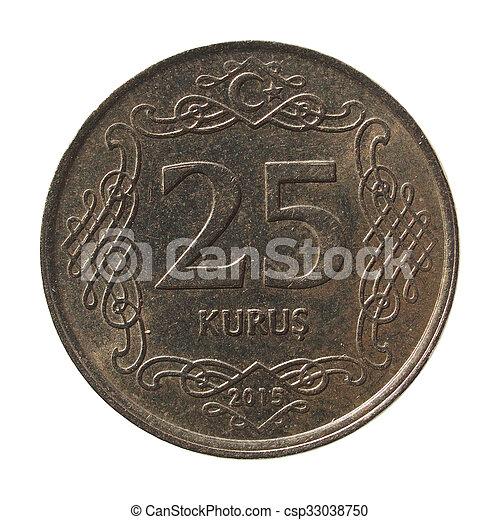 Turkish coin - csp33038750