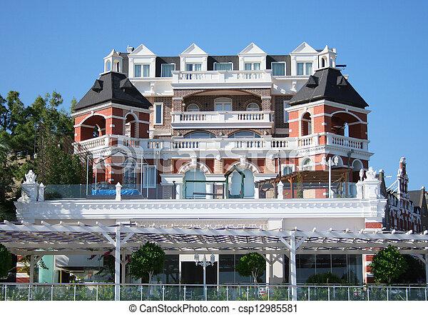 Turkish hotel  - csp12985581