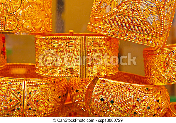 Turkish jewelry Store in istanbul  - csp13880729