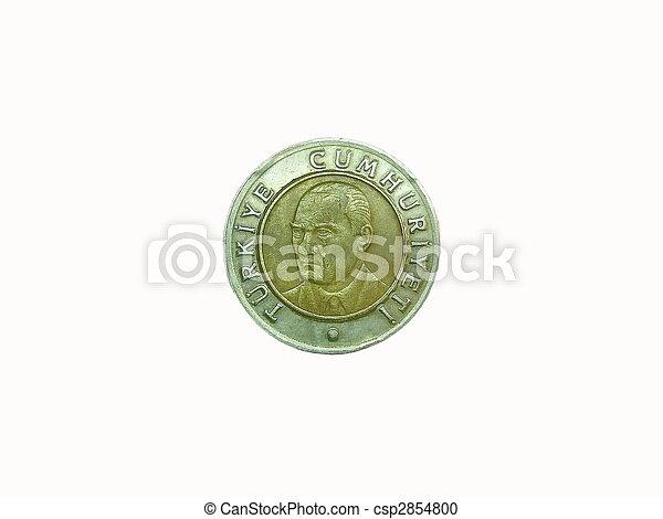 Turkish lira - csp2854800