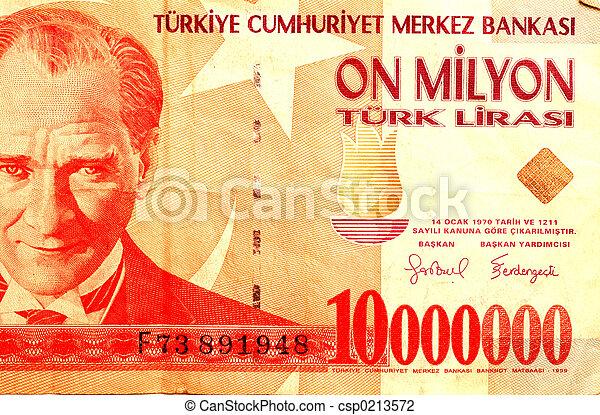 turkish money  83 - csp0213572