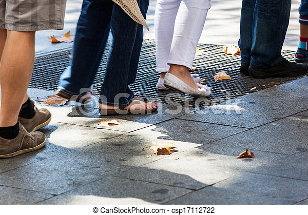 turn on the sidewalk - csp17112722