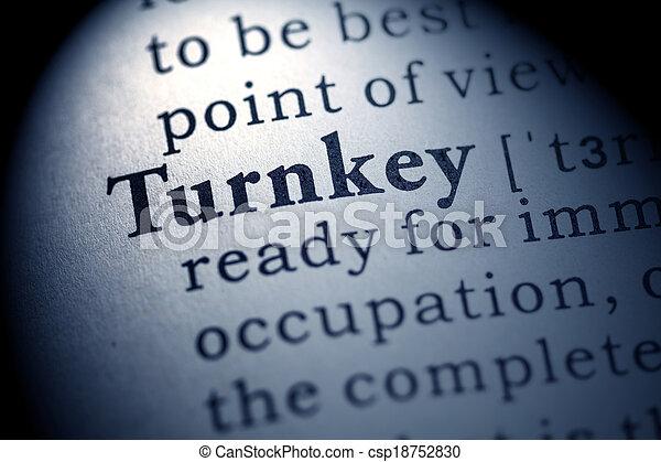 turnkey - csp18752830