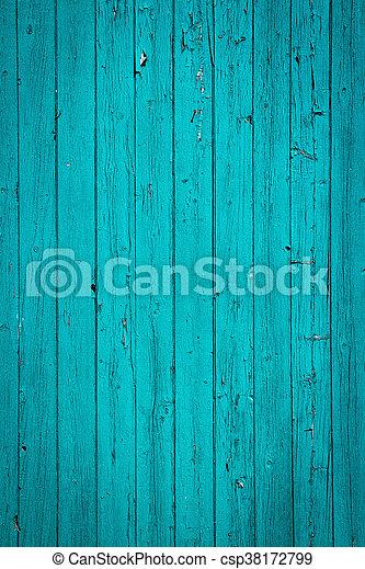 Turquesa de madera vieja - csp38172799