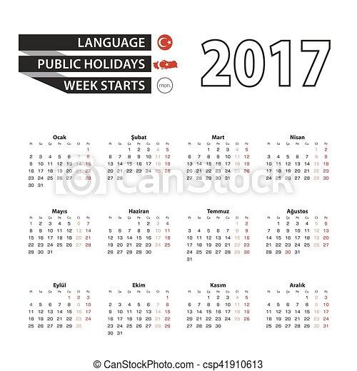 calendrier vacances turquie