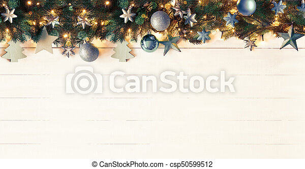 Christmas Banner.Turquoise Christmas Banner Instagram Filter Copy Space