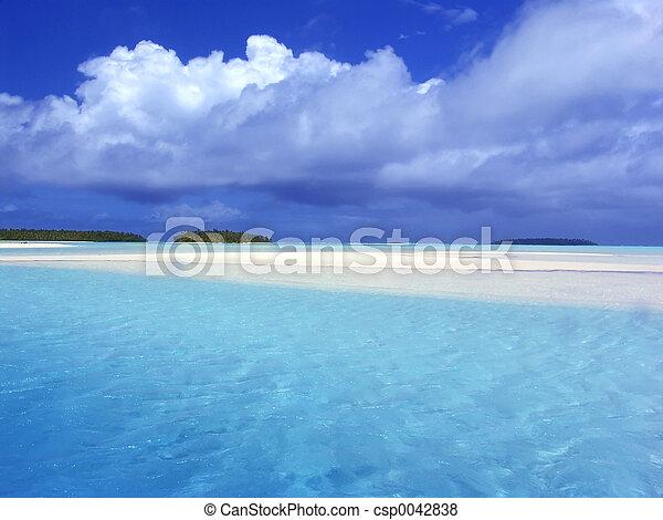 Turquoise Lagoon - csp0042838