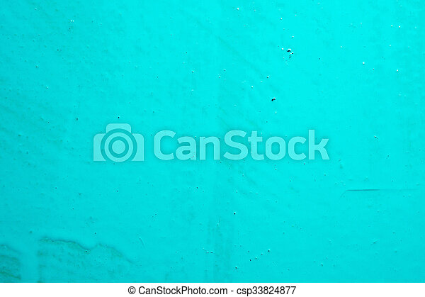 Turquoise Paint Background Fresh Bright Color