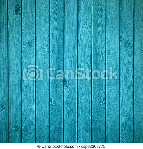 Turquoise Wooden Rustic Background