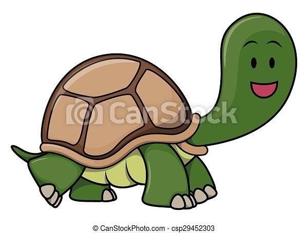 Turtle cartoon - csp29452303