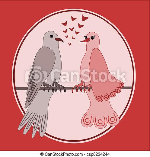 Turtle doves - csp8234244