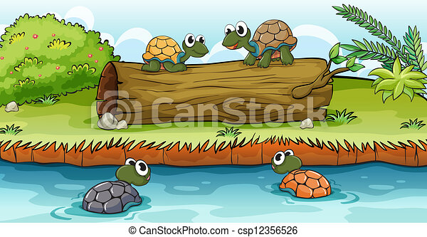 Turtles Illustrations And Clip Art 20 040 Turtles Royalty Free