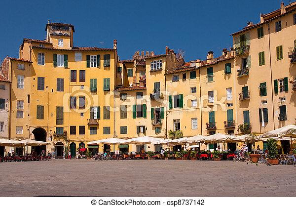 Tuscan historic architecture - csp8737142
