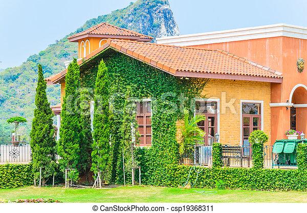 Tuscany House - csp19368311