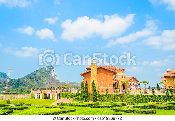 Tuscany House - csp19369772