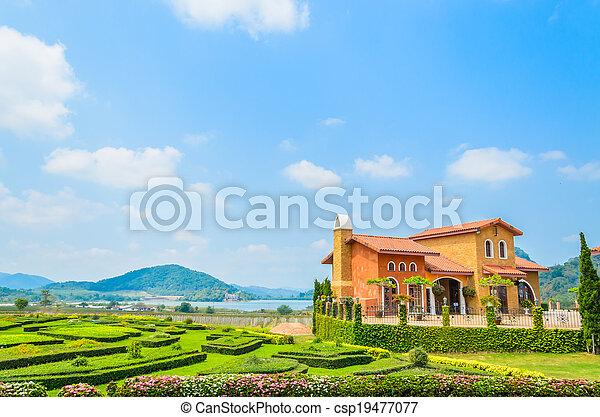 Tuscany House - csp19477077