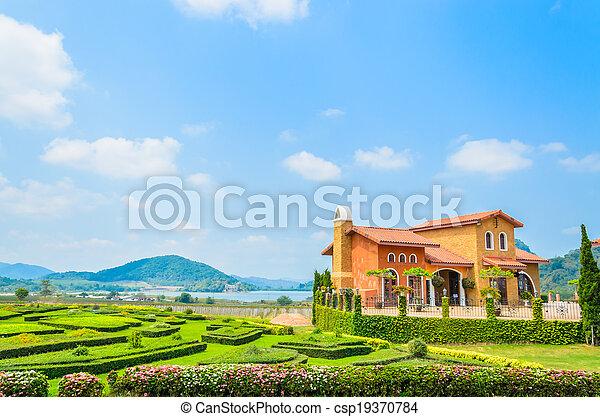 Tuscany House - csp19370784
