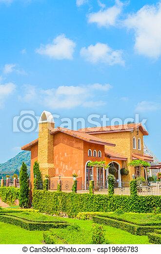 Tuscany House - csp19666783
