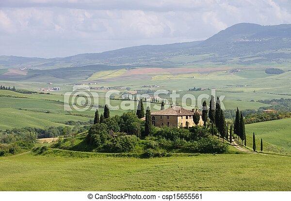 Tuscany house - csp15655561