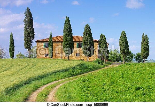 Tuscany house - csp15888699