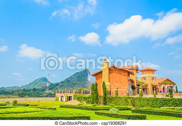 Tuscany House - csp19368291