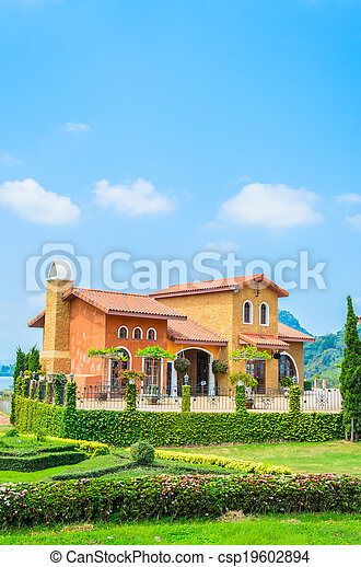 Tuscany House - csp19602894