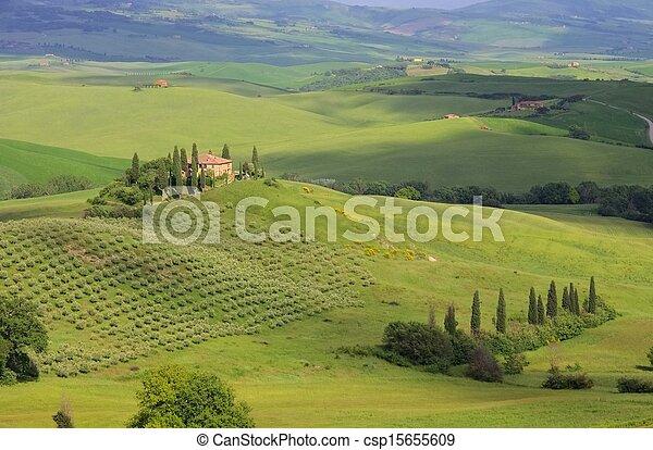 Tuscany house - csp15655609