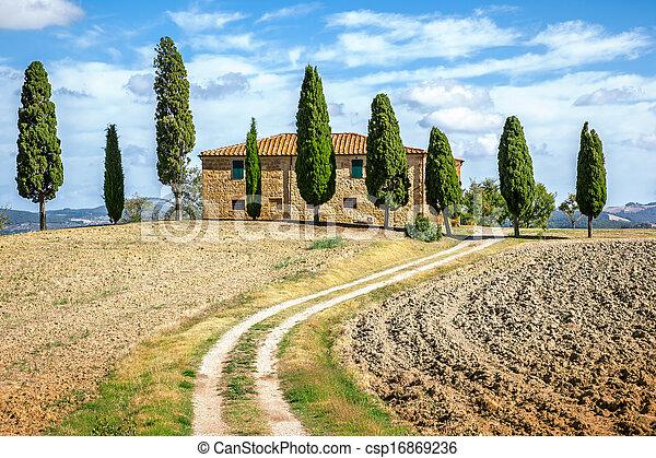 Tuscany House - csp16869236