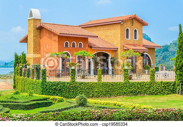 Tuscany House - csp19585334