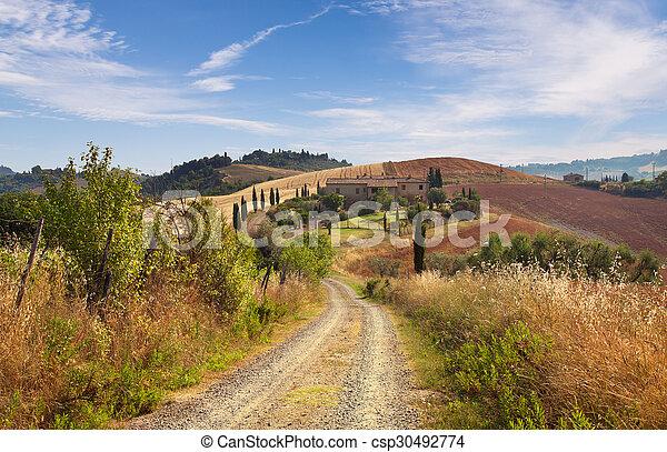 Tuscany, Italy - csp30492774